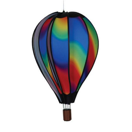 Premier Designs 22 in. Hot Air Balloon Wavy Wind Spinner - Hot Air Balloon Costume