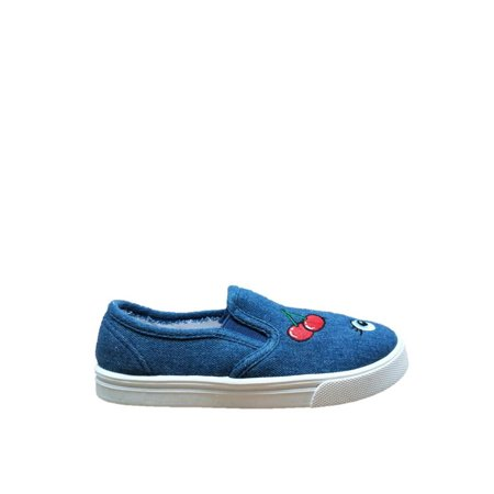 Girls Shose (Girls' Patches Casual Slip-On)