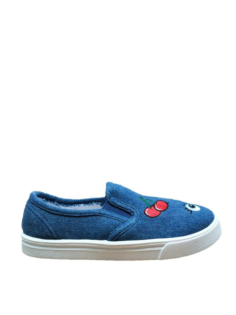 Girls' Patches Casual Slip-On Shoe