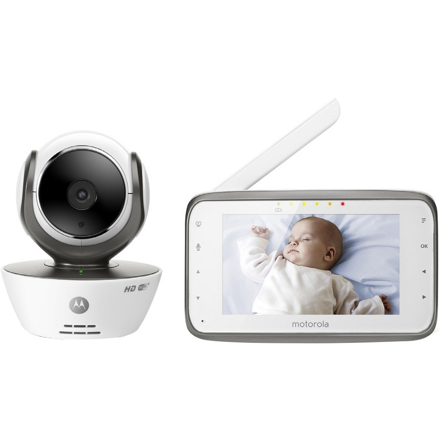 Motorola Digital Video Baby Monitor W/ Wi-Fi Internet Viewing