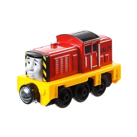 Fisher-Price Thomas The Train Take-N-Play Talking Salty Train, Sturdy collectible die-cast train engine By FisherPrice Ship from US