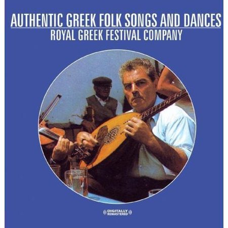 Authentic Greek Folk Songs and Dances (Remaster) (CD)