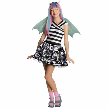 Monster High Rochelle Goyle Child Halloween Costume - Monster High Halloween Special Full Movie