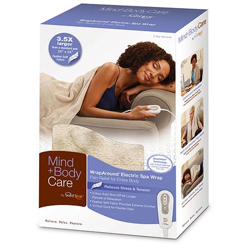 SoftHeat Mind & Body Care WrapAround Electric Spa Wrap HEW3000