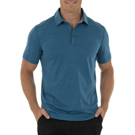 e49ac238 Swiss Tech - Men's Short Sleeve Performance Stretch Polo Tee - Walmart.com