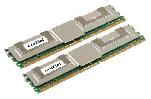 Crucial 16gb Ddr2 Sdram Memory Module - 16gb (2 X 8gb) - 667mhz Ddr2-667/pc2-5300 - Ecc - Ddr2 Sdram - 240-pin Dimm