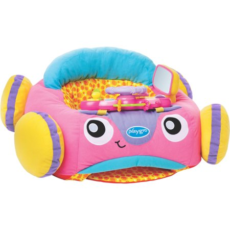 Playgro Music And Lights Comfy Car (Pink) for Baby Infant