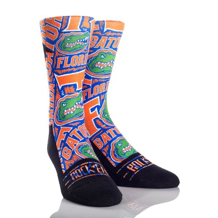 Florida Gators Adult  NCAA Logo Sketch Socks - (Florida Marlins Socks)