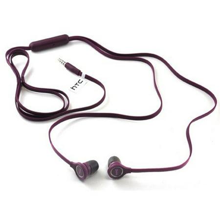Purple Flat Wired Earphones Oem Earbuds W Mic Dual Headphones Headset Hands Free In Ear 3 5Mm Stereo Jkk For Huawei Ascend Xt  Google Nexus 6P  Mate 9  Mediapad M1 T1 10 X1  Union  Vision 3 Lte