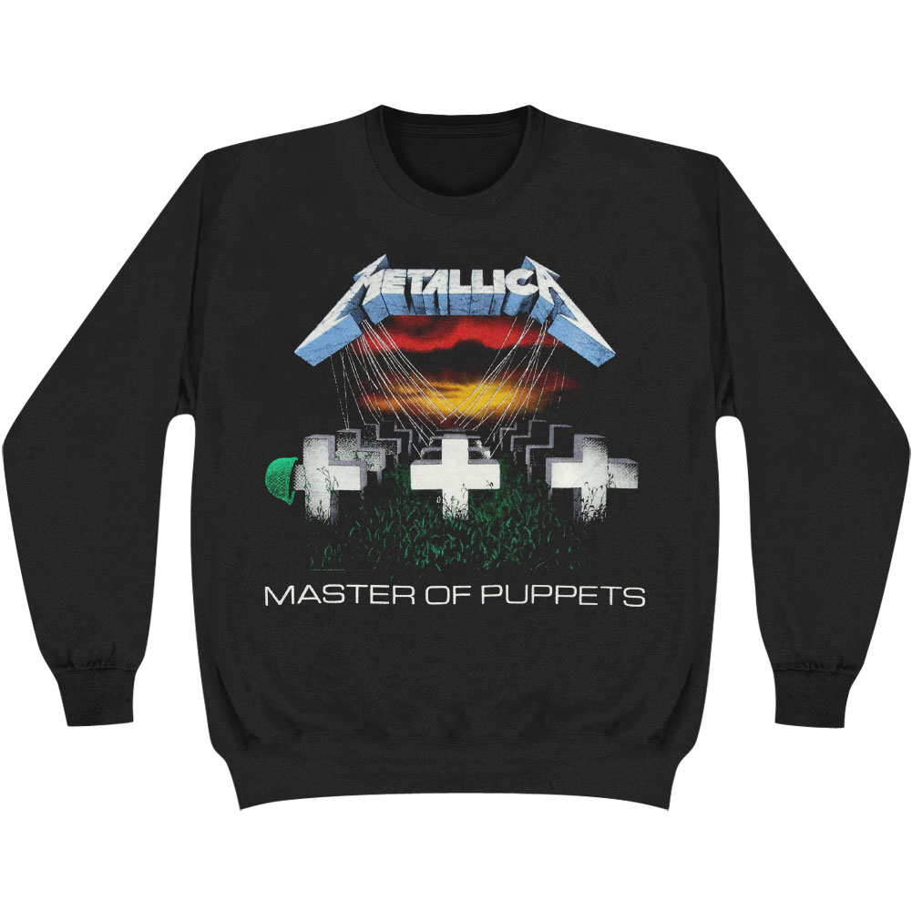 Metallica Men's  Master Of Puppets Sweatshirt Black