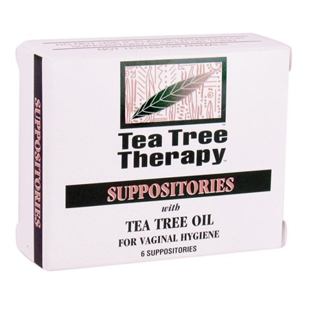 Tea Tree Therapy Suppositories For Vaginal Hygiene - 6 Ea, 6