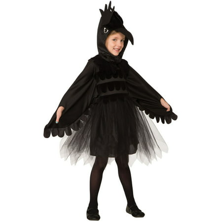 Raven Costume For Girls (Tudor Costumes For Sale)