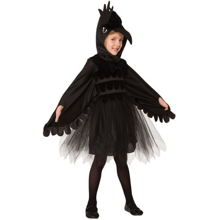 Raven Costume For Girls - Sandwich Costume For Sale