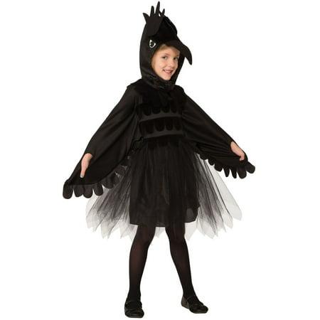 Raven Costume For Girls - Lava Girl Costume For Sale