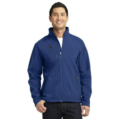 Mens Accelerator Soft Shell Jacket (Port Authority Men's Polyester Welded Soft Shell Jacket )