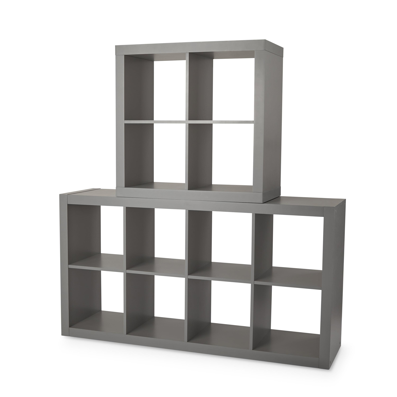 SHOE ORGANIZER 15-Cube Closet Cabinet Rack Storage Shelf Decor Espresso Finish