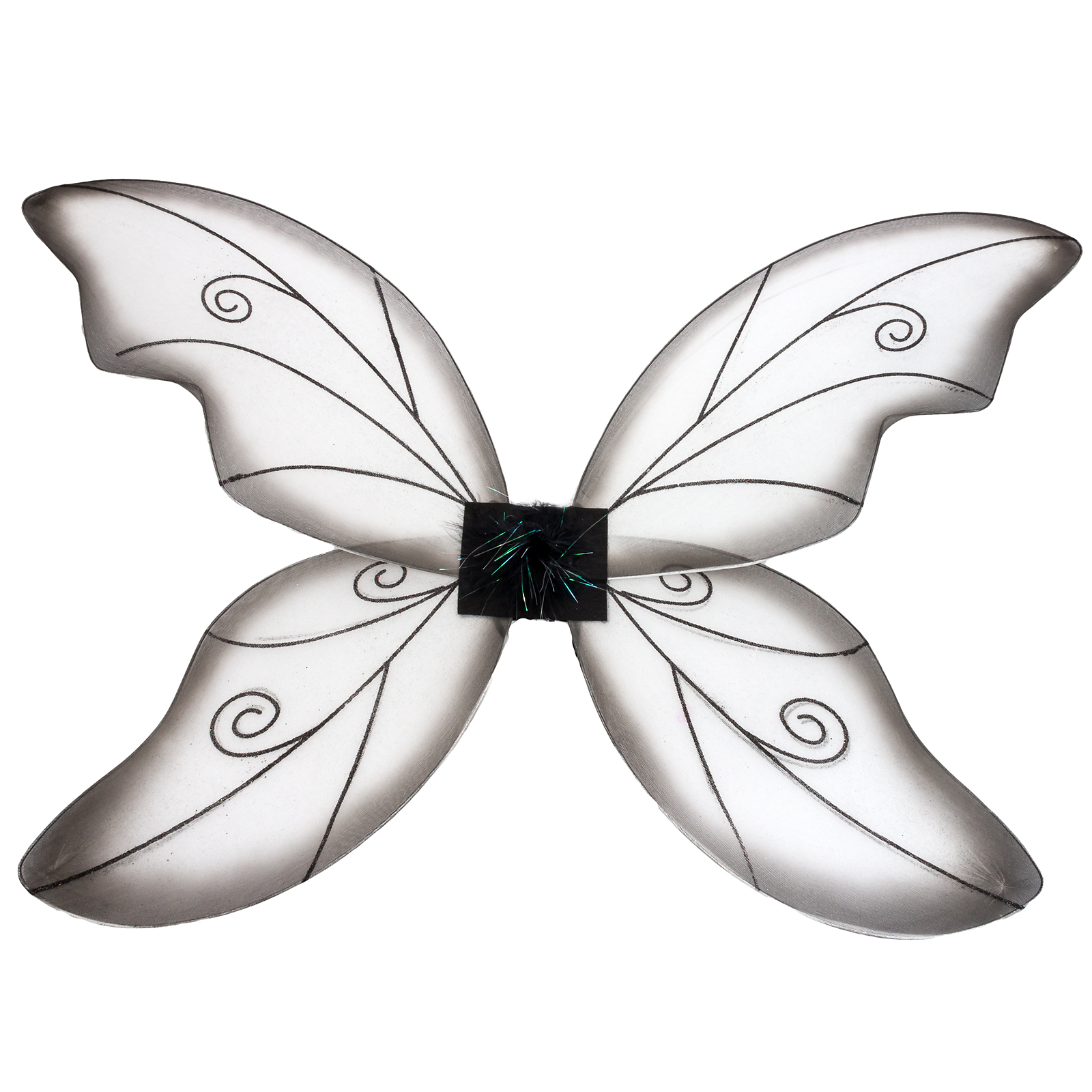 Women's Wild Fairy Nylon Wings Halloween Party Dance Costume Accessory NEW