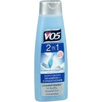 Alberto VO5, 2 in, 1 Moisturizing Shampoo + Conditioner, 12.5 Fl Oz