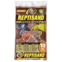 Zoo Med Laboratories Reptisand All Natural Terrarium Sand Natural Red 10 Lbs