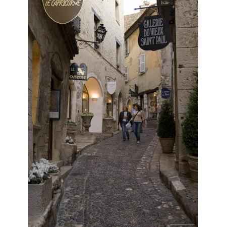 St. Paul De Vence, Alpes Maritimes, Provence, Cote d'Azur, France Print Wall Art By Sergio