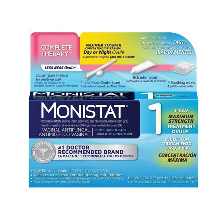 Monistat Combination Pack, 1-Ovule Insert with Applicator & External