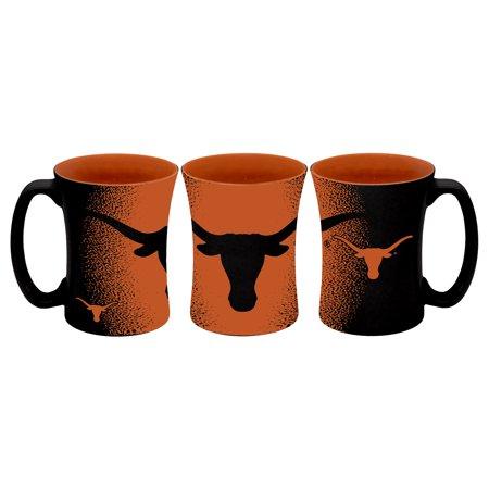 Texas Longhorns Coffee Mug 14oz Mocha Style ()