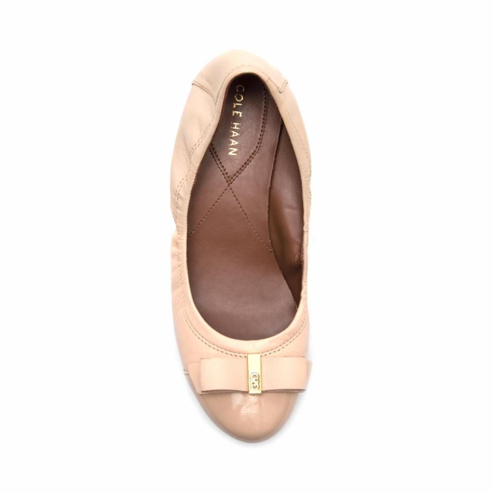 Cole Haan  Women's Elsie Ballet Ii W01876/Nude/Nude Patent 8 M US - image 2 de 5
