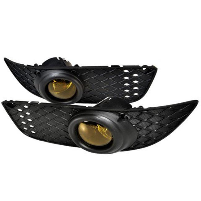 OEM Style Fog Lights for 07 to 10 Mitsubishi Lancer, Yellow - 10 x 12 x 18 in.