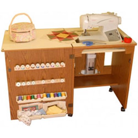 Arrow Cabinet (Arrow 98500 Compact Sewing Cabinet - oak finish)