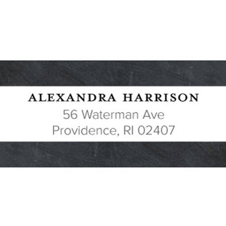Bonjour Personalized Address Label (Johnnie Walker Whisky Blue Label)