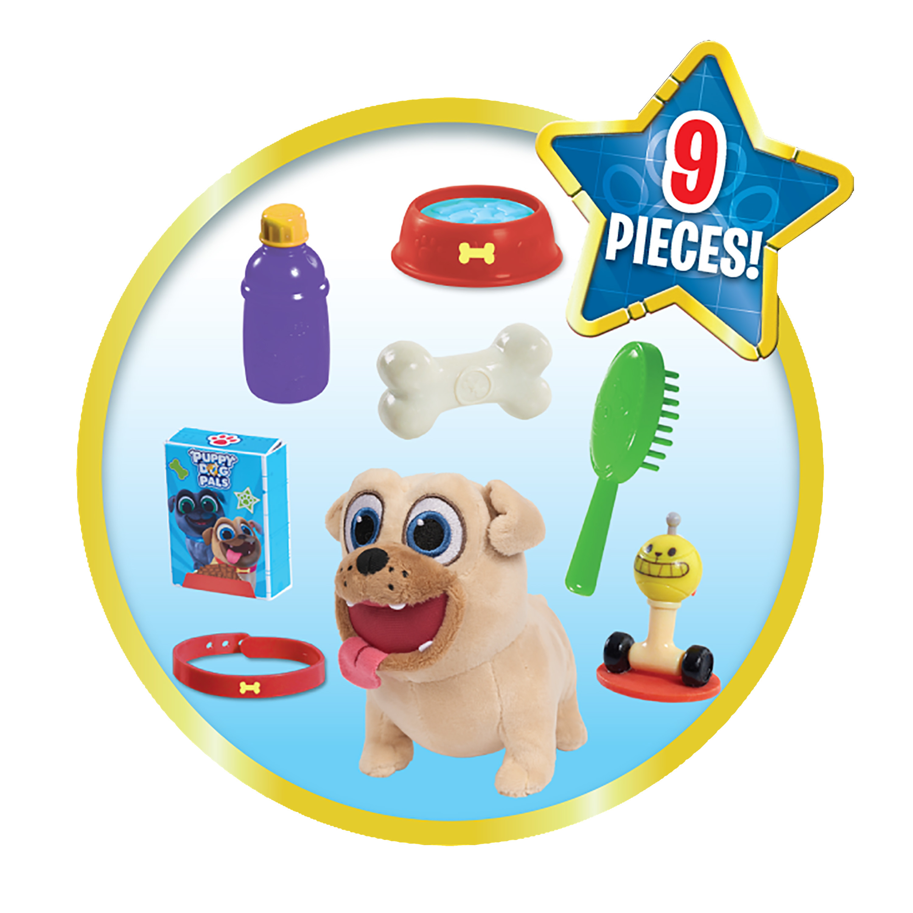 Puppy Dog Pals Groom And Go Pet Carrier Rolly Walmart Com