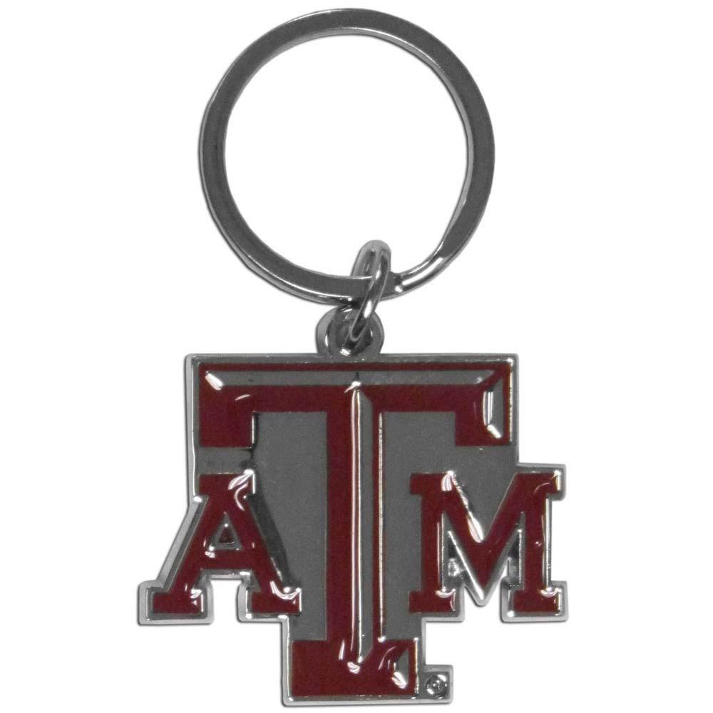 Texas A & M Aggies Enameled Key Chain (F)