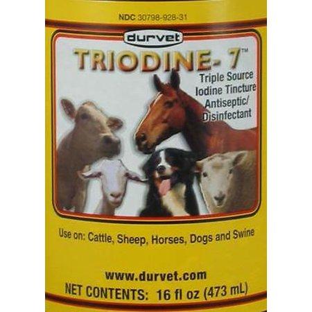 Brand New Triodine-7 Triple Source Iodine Tincture