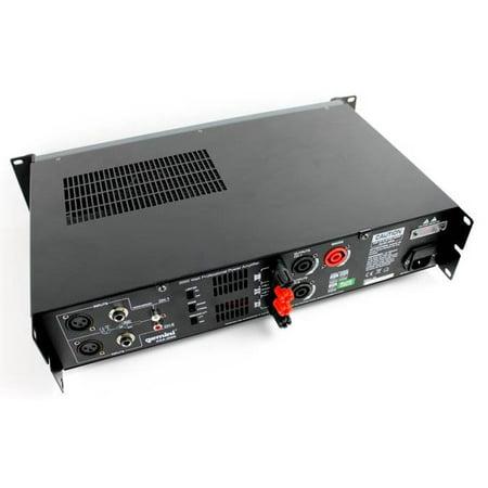 GCI TECHNOLOGIES XGA2000 2000 Watts Professional Power Amplifier - image 8 of 10