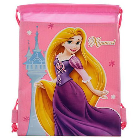 Princess Rapunzel Character Authentic Licensed Pink Drawstring Bag