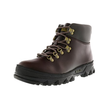 8e7431a2280 Polo Ralph Lauren Men's Hainsworth Dark Brown / High-Top Leather Boot -  7.5M | Walmart Canada