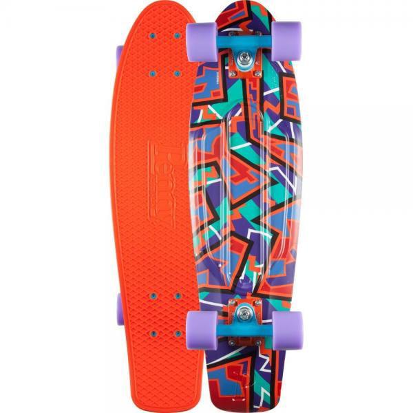 PENNY 27 Nickle Spike Orange Complete Skateboard