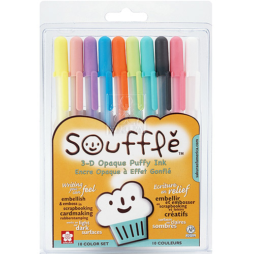 Souffle Opaque Puffy Ink Pens