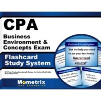 CPA Business Environment & Concepts Exam Flashcard Study System: CPA Test Practice Questions & Review for the Certified Public Accountant Exam