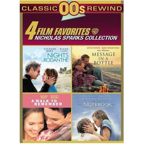 4 Film Favorites: Nicholas Sparks Romances by
