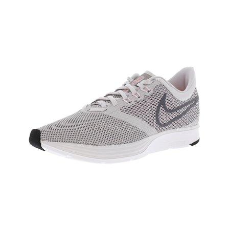 f7971252678 Nike Women s Zoom Strike Black   White-Dark Grey Ankle-High Running Shoe ...