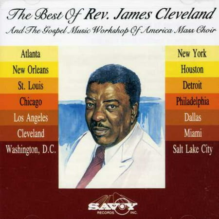 Best of Rev James Cleveland & Gmwa (CD) (The Best Of James Cleveland)
