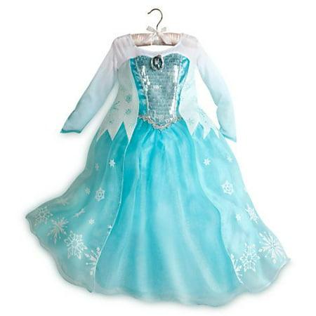 080d87602 Frozen Princess Elsa Costume Size Medium 7/8 - Walmart.com