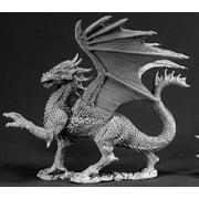 Reaper Miniatures Silver Dragon 02539 Dark Heaven Legends Unpainted Metal Figure
