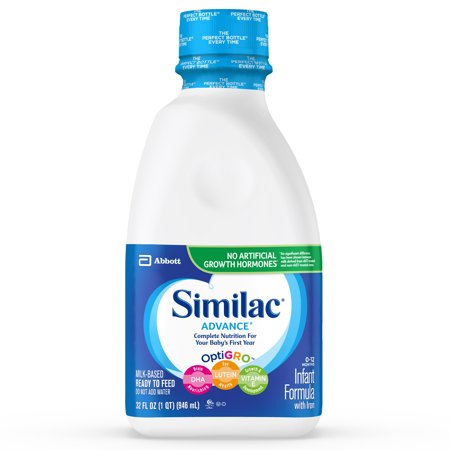 Similac Advance Infant Formula with Iron Baby Formula 32 fl oz