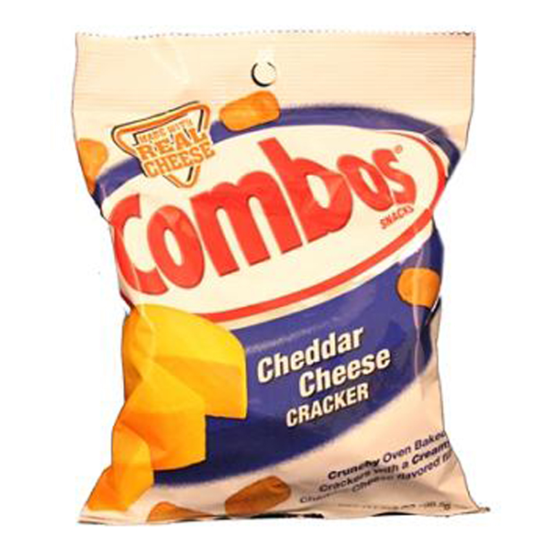 Mars Inc Combos Cheddar Cheese Crackers