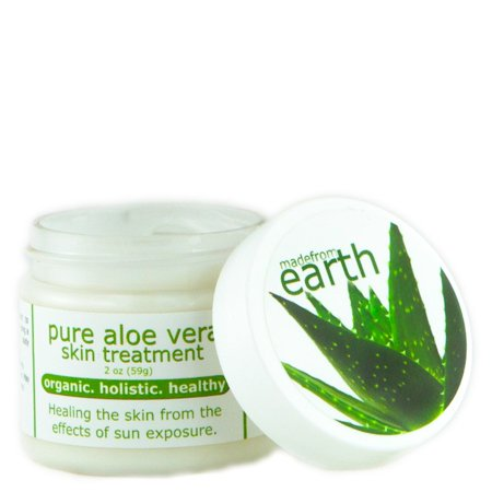 Eczema Treatment - Organic Aloe Vera for healing dermatitis and - Mens Coconut