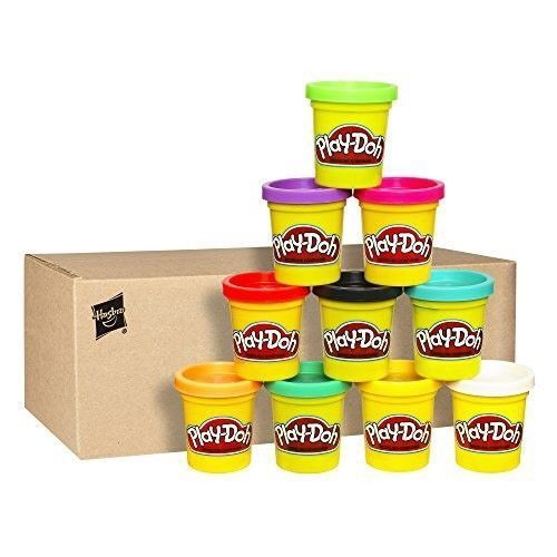 play doh modeling compound 10 pack case of colors assorted colors