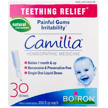 3 Pack - Boiron Camilia Teething Relief Liquid Doses 30 ea ()