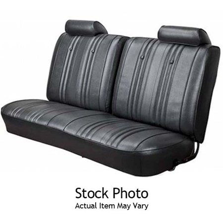 PUI 70AS10B Split Front Bench Seat Upholstery, 70 Chevelle
